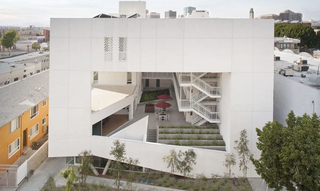 Affordable Housing For Disabled Veterans Marries Wellness And Sustainability In Los Angeles Affordable Housing Veteran Housing Residential Architect