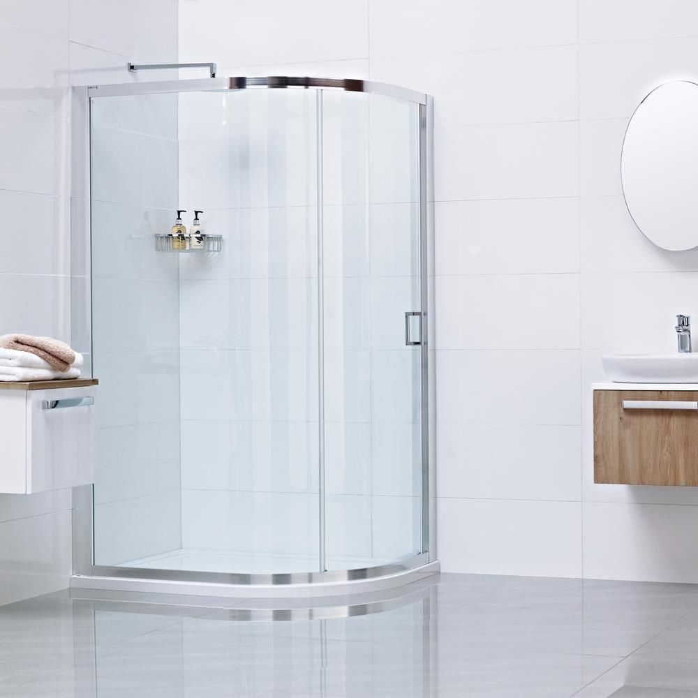 Lumin8 One Door Quadrant Shower Enclosure