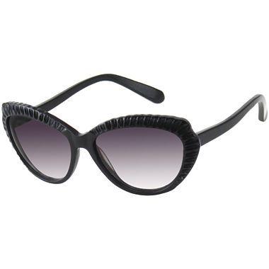 Olsenboye Scalloped Cat Eye Sunglasses Jcpenney Trend We Love