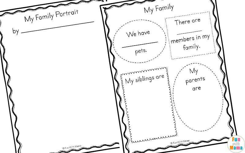 Family Theme Preschool And Family Worksheets For Kindergarten Family Tree Kindergarten Kindergarten Worksheets Family Worksheet