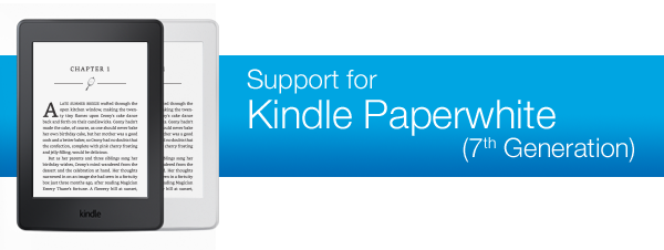 Amazon Kindle Paperwhite 7th Generation Drivers (2019)