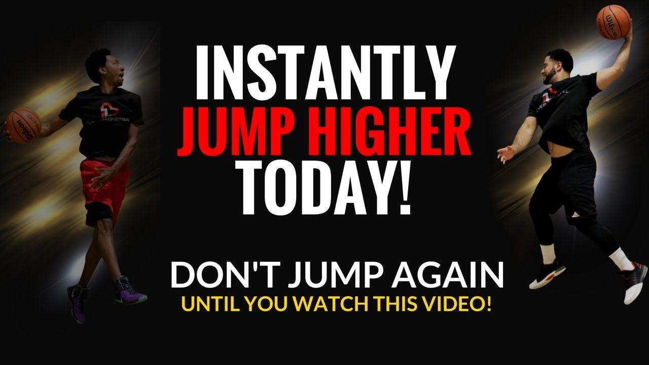 Jump Higher Instantly Without Weights Increase Vertical Jump High Jump Vertical Jump Training Vertical Workout