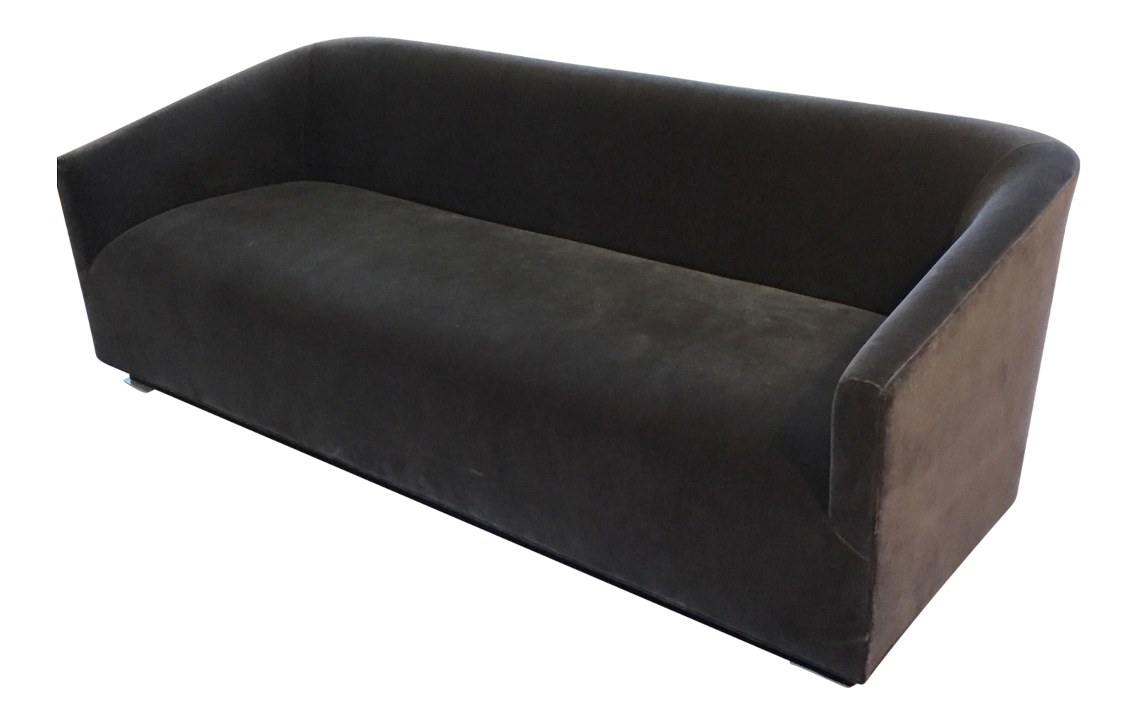 Restoration Hardware Italian Shelter Arm Sofa On Chairish.com