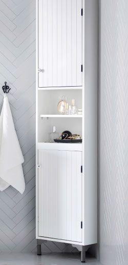 Silveran White Corner Cabinet Ikea Ikea Badezimmerschrank Ikea
