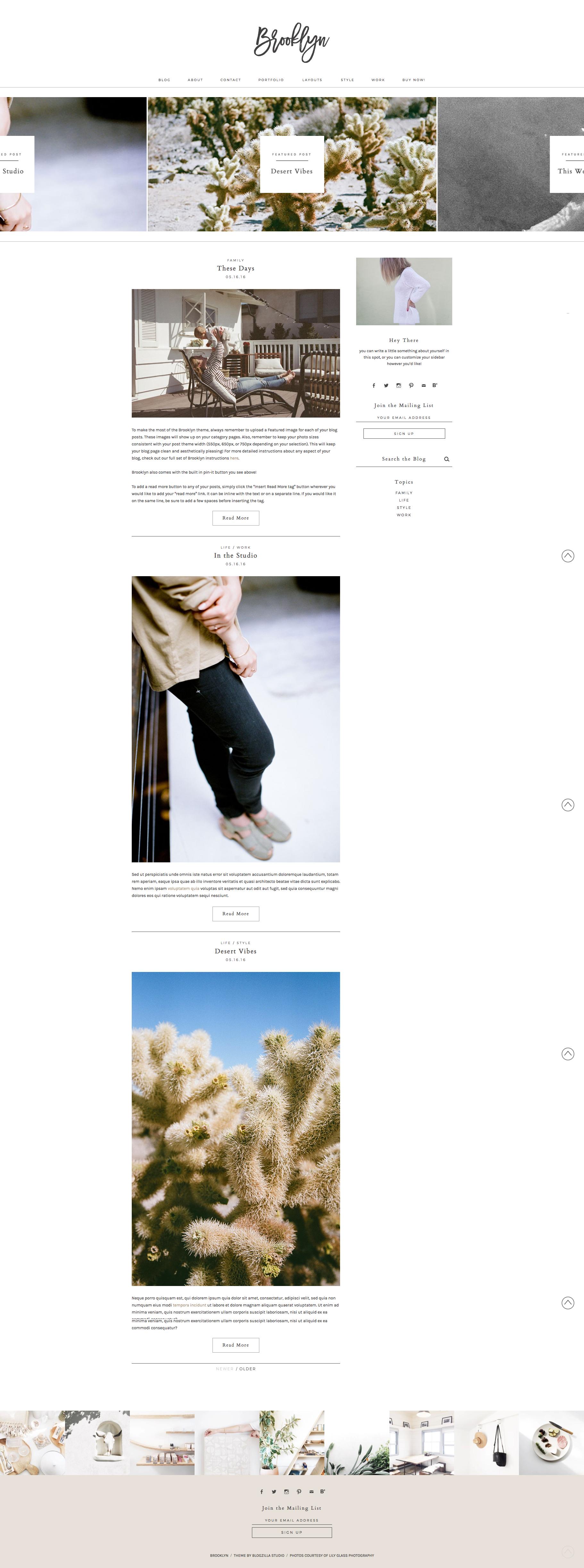 Brooklyn Webpage