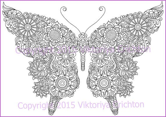 Coloring Pictures Of Flowers And Butterflies Pdf