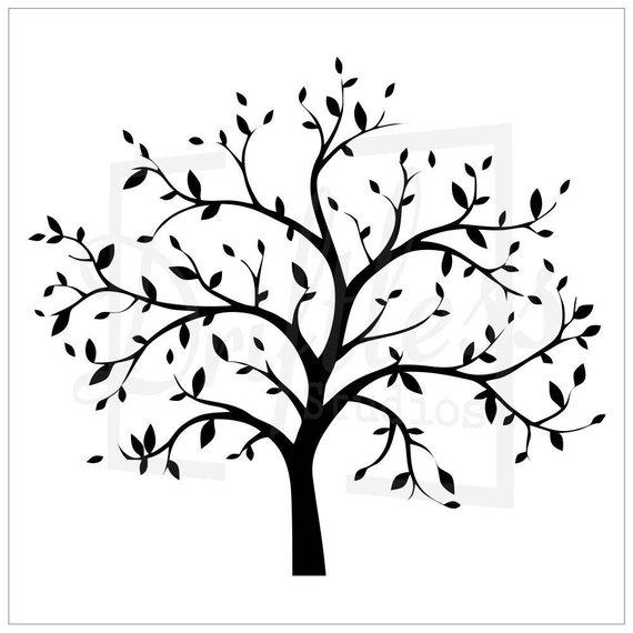 Bare Tree Stencil 2 2403183429