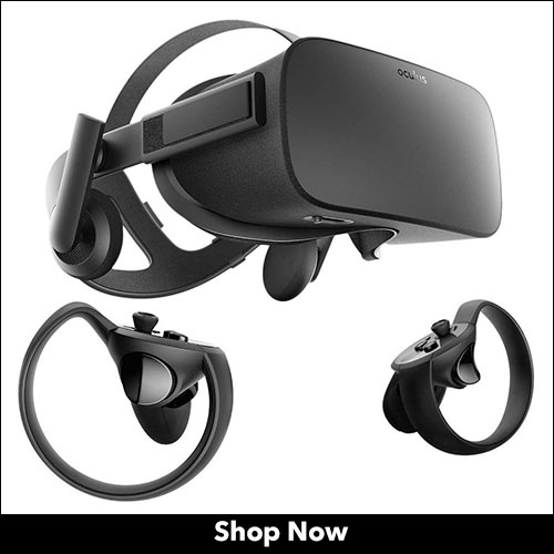 Oculus Rift + Touch Virtual Reality Headset for PC in 2020