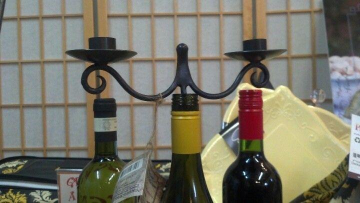 Cork candelabra ...awesome