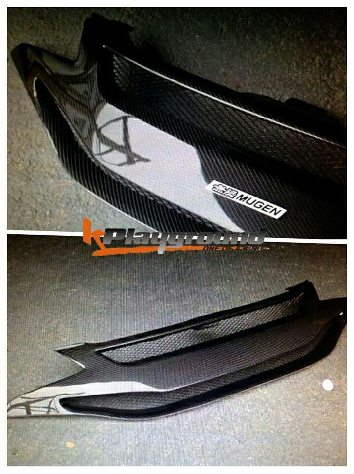2015 USDM Honda FIT Carbon Front Grill Gk5 Mugen