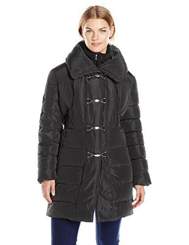 Jessica Simpson Women's Plus-Size Mid-Length Down Coat with Clasp Closure  http://www.effyourbeautystandarts.com/jessica-simpson-womens-plus-size-mid-length-down-coat-with-clasp-closure/