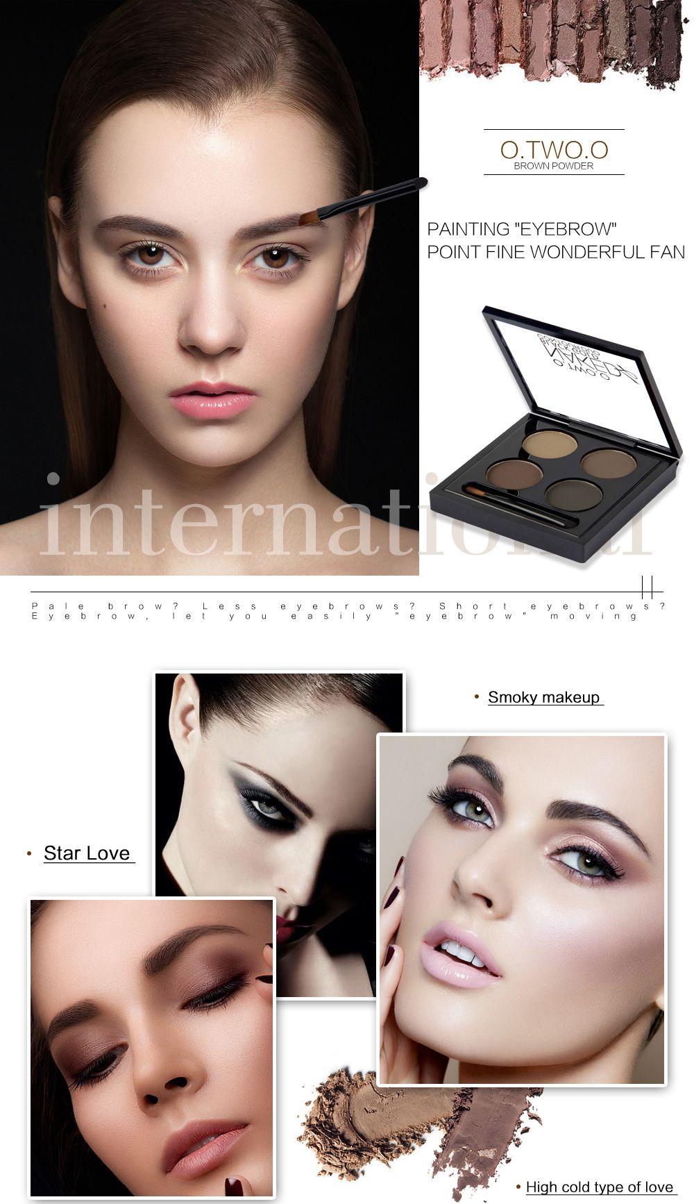 Pin by O.TWO.O Cosmetics on EYEBROW POWDER Powdered