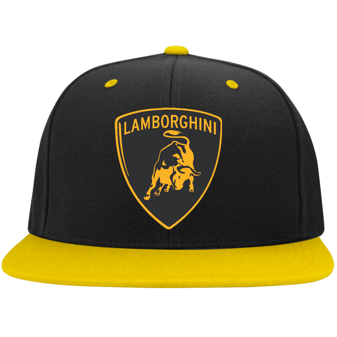 Lamborghini STC19 Sport-Tek Flat Bill High-Profile Snapback Hat ... 0a75b29b4e0