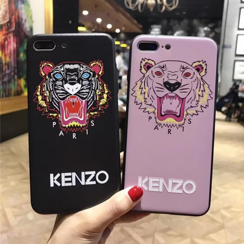 new styles c3390 782e1 KENZO Soft TPU Phone Case Cover Skins For iPhone 6/6S/7/8plus in ...