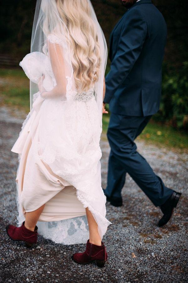 Bohemian Meets Rock N Roll Wedding In 2020 Boho Wedding Gown