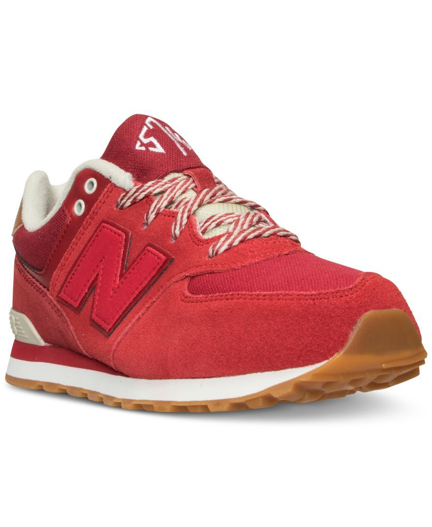 new balance boys 574 collegiate casual sneakers from finish line