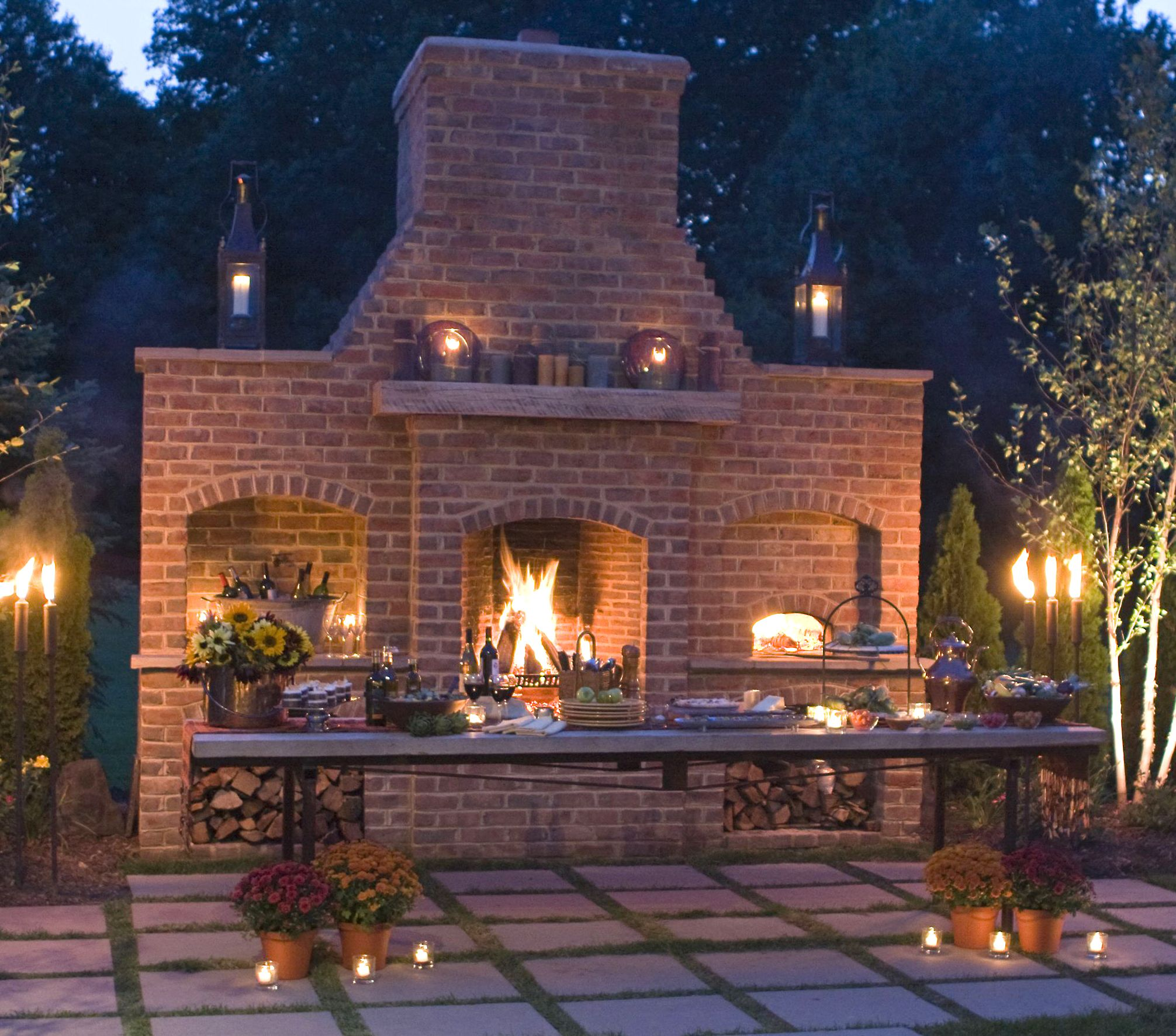 Pinterest  Outdoor Fireplace And Pizza Oven