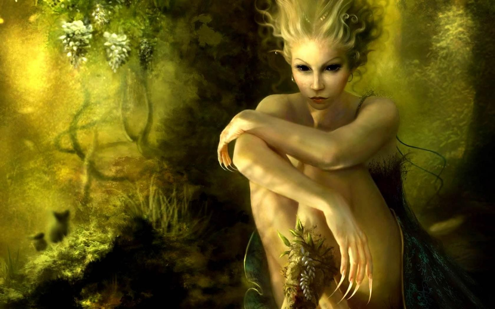 Wallpapers nightelf free hd sexy elf girl with long nails x fairy in woods green fairy elf forest x 768 px cartoonsdark arts pictures and wallpapers voltagebd Gallery