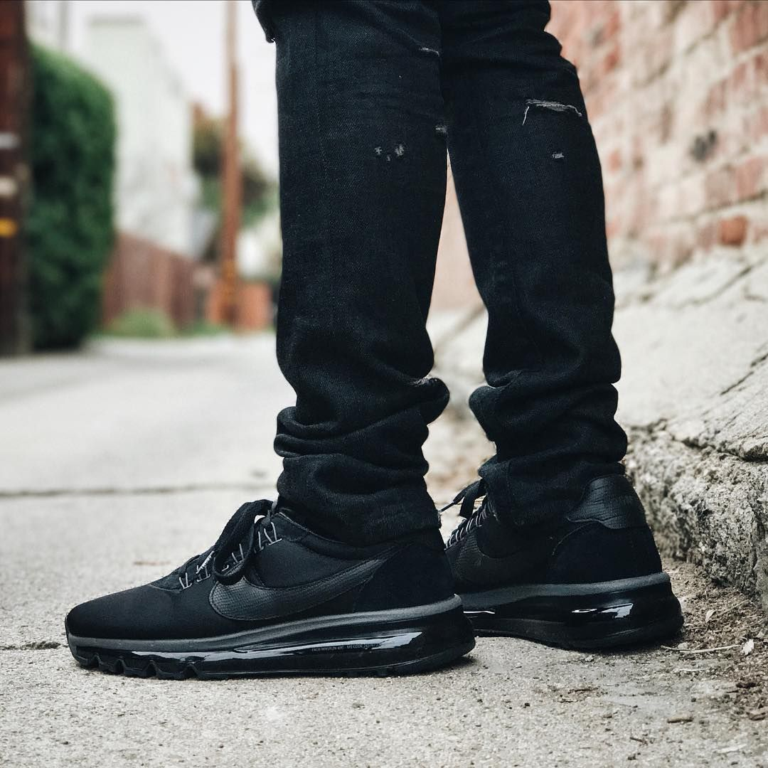 buy online 8541d 47db1 Fragment x NikeLab Air Max Zero LD 'Triple Black' (via Kicks-daily.com)