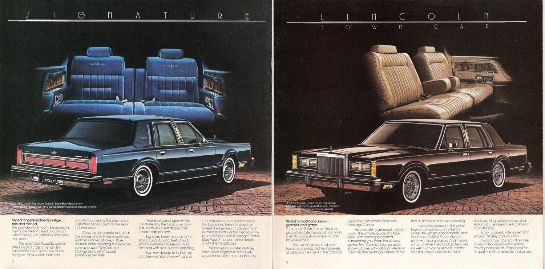 The 1982 Lincoln Town Car Lincoln Town Car Car Ads Car
