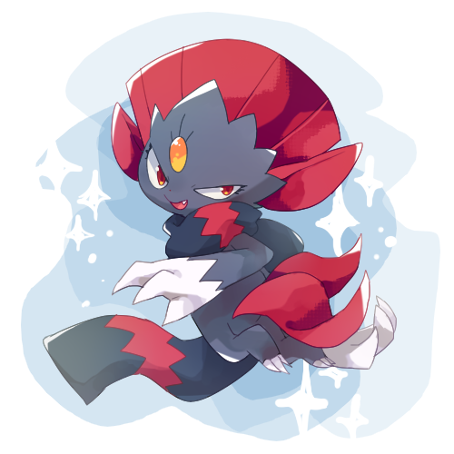 weavile (With images) Pokemon, Cute pokemon