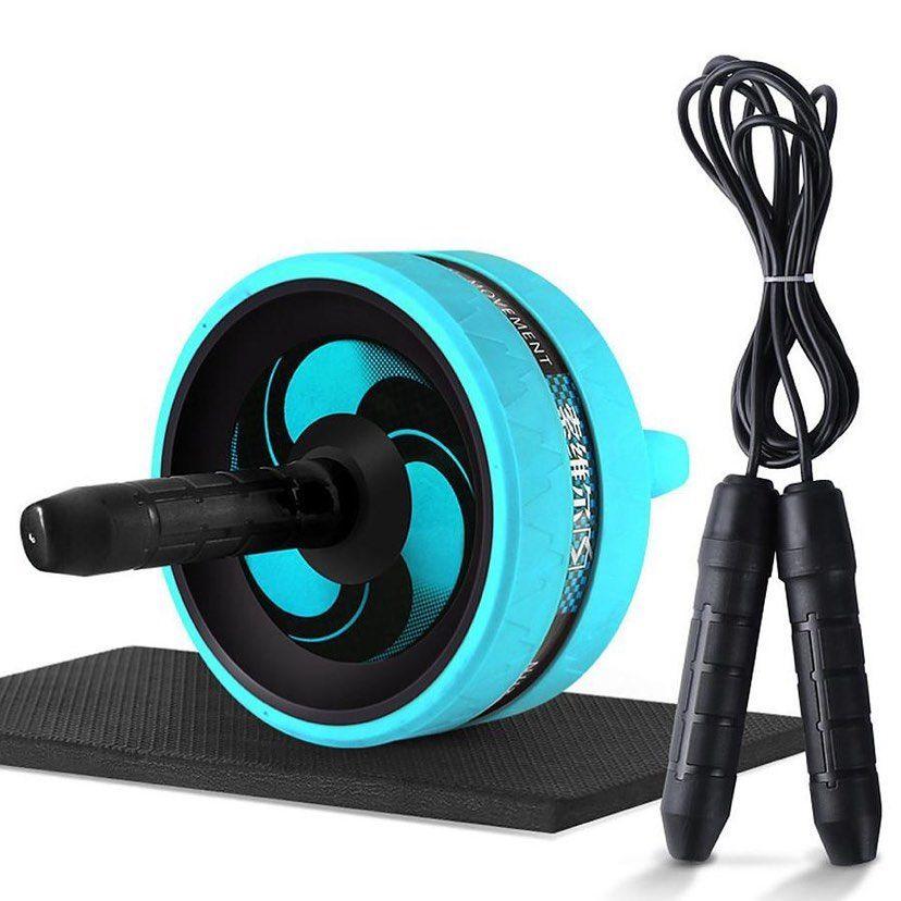 AB Wheel Pro Rodillo de Ejercicio para Abdominales y Brazos Rueda Abdominal NEW