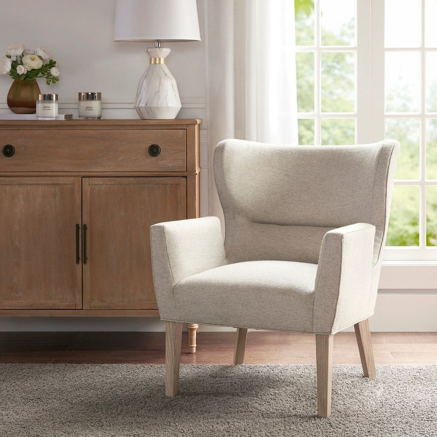 Madison Park Topix Accent Chair In 2020 Accent Chairs Mid Century Accent Chair Cheap Leather Chairs