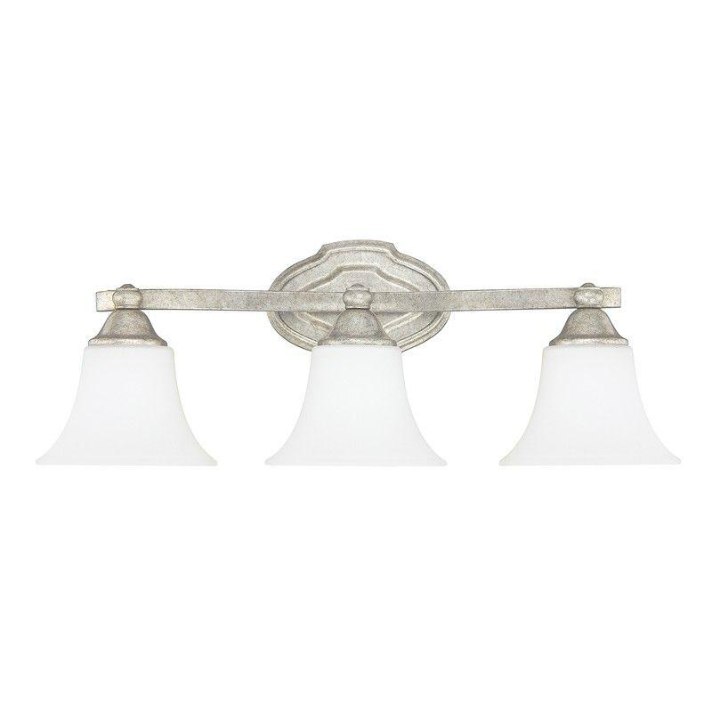 Guest bath 3 light vanity capital lighting fixture company