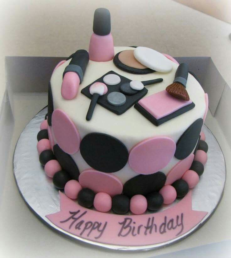 makeup birthday cake makeup birthday cake cool cakes makeup 5660