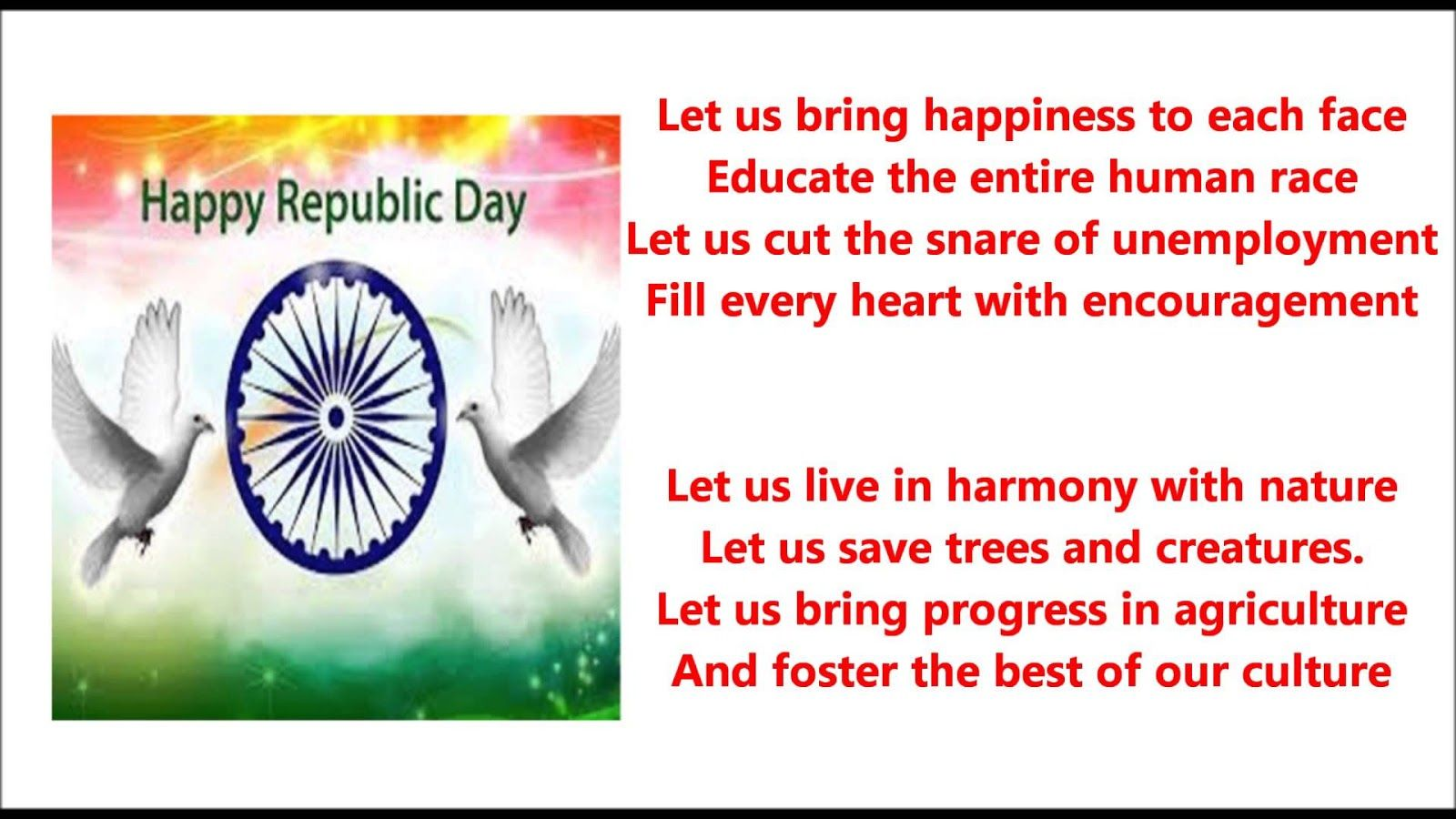 Republic Day Songs List For Dance Republic Day Poem On Republic Day Patriotic Poems