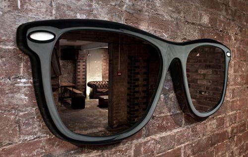 Doppelt cool: Spiegel-Brille von Thatbo