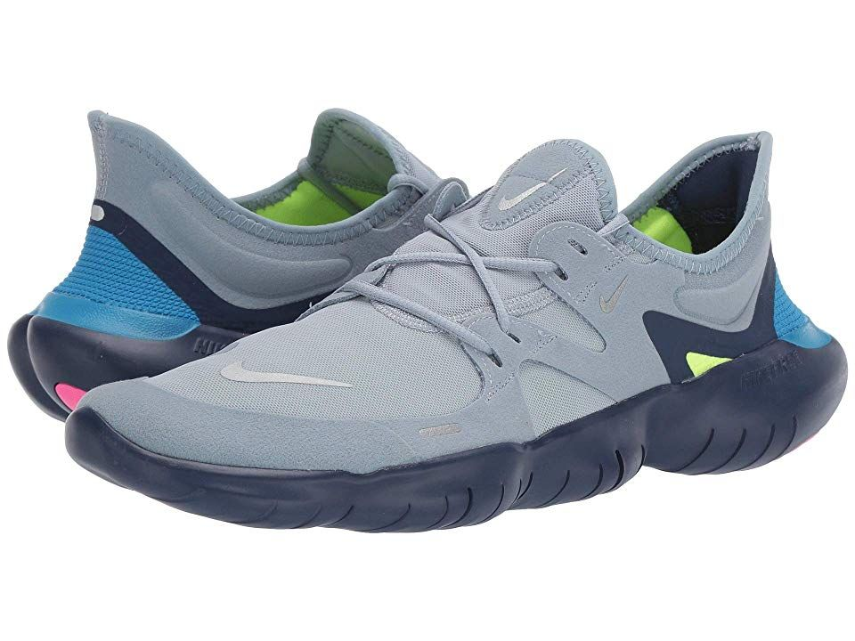 Nike Free RN 5.0 Men's Running Shoes Obsidian MistMetallic