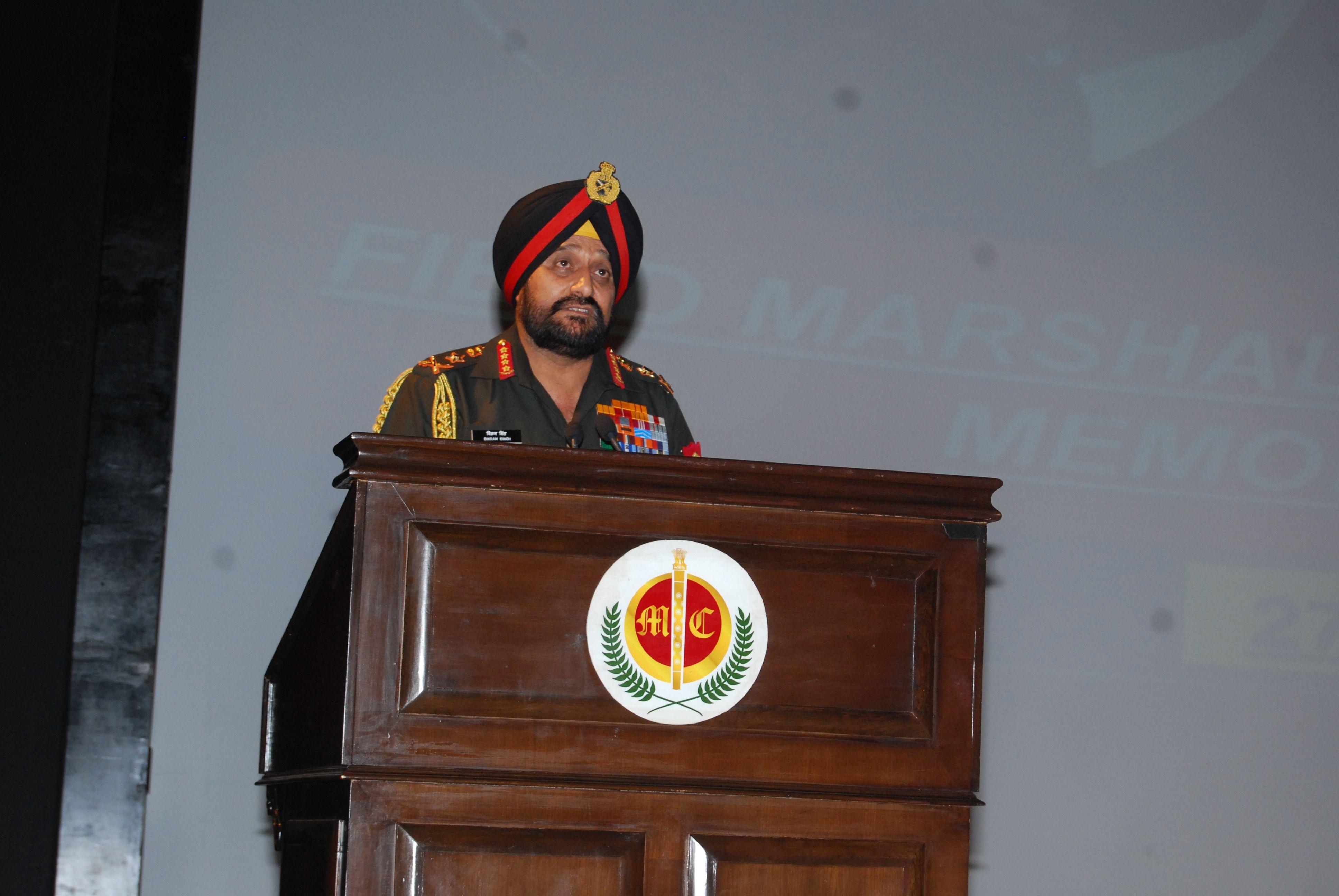 Field Marshal Sam Manekshaw Memorial Lecture Core Sector Communique Field Marshal Lecture Memories