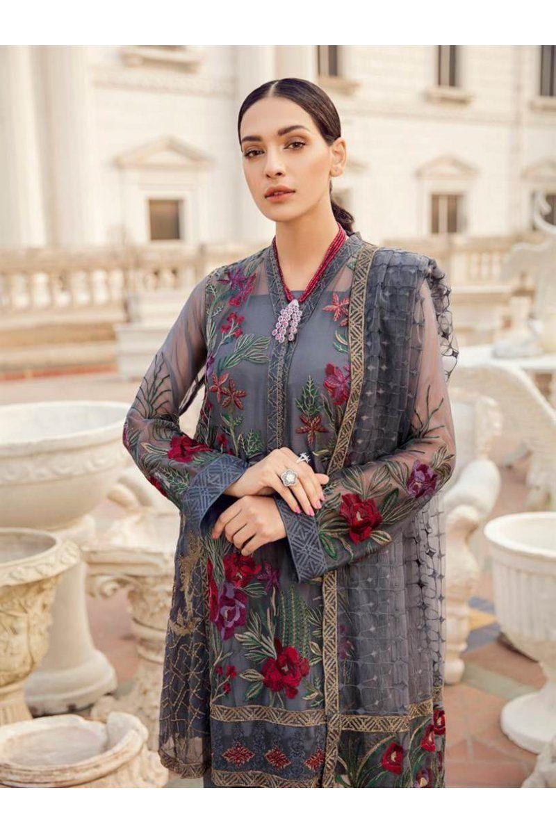 a0a1345672 Designer Pakistani Salwar Suits Chinon By Iznik Fashion Chiffon Embroidery  Collection