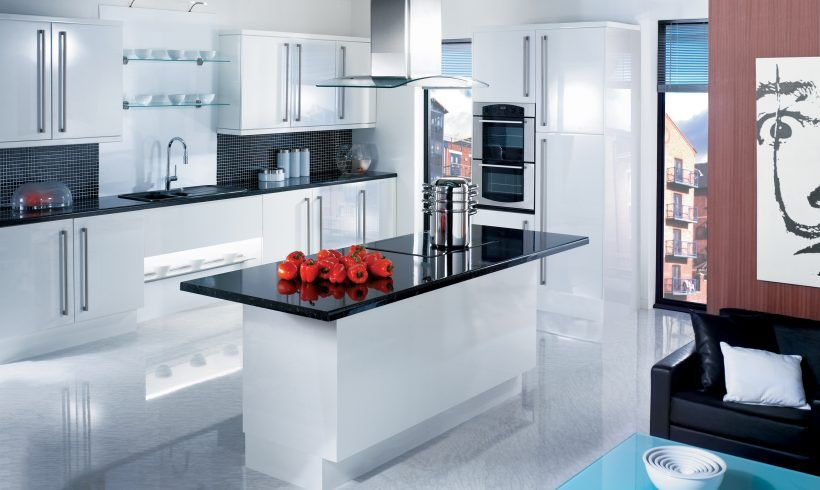 Kitchen Luxury White Kitchen Decorating Ideas For Small Spaces