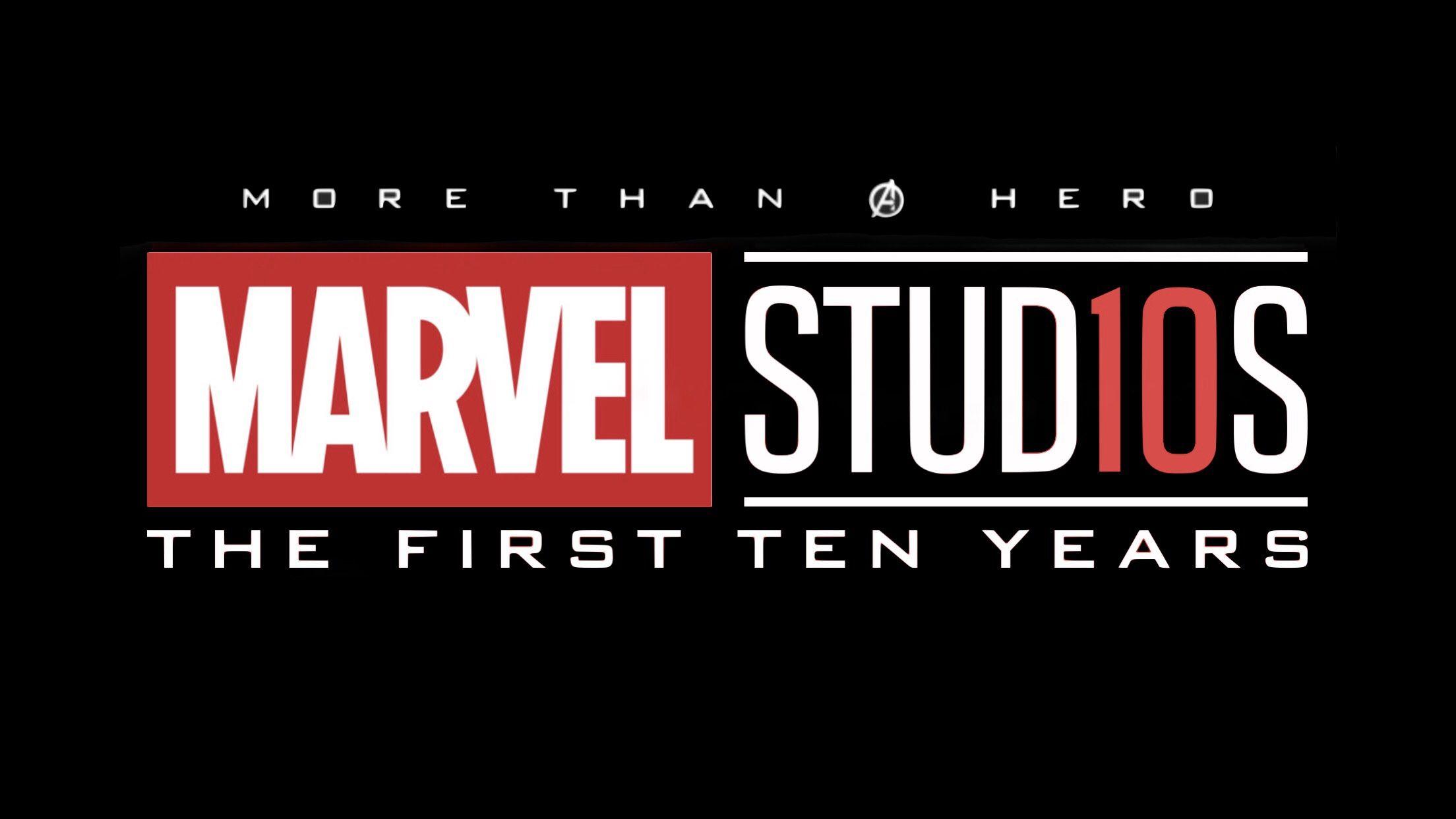 Marvel Studios: the First Ten Years Logo | Marvel studios logo, Marvel  superhero posters, Marvel studios