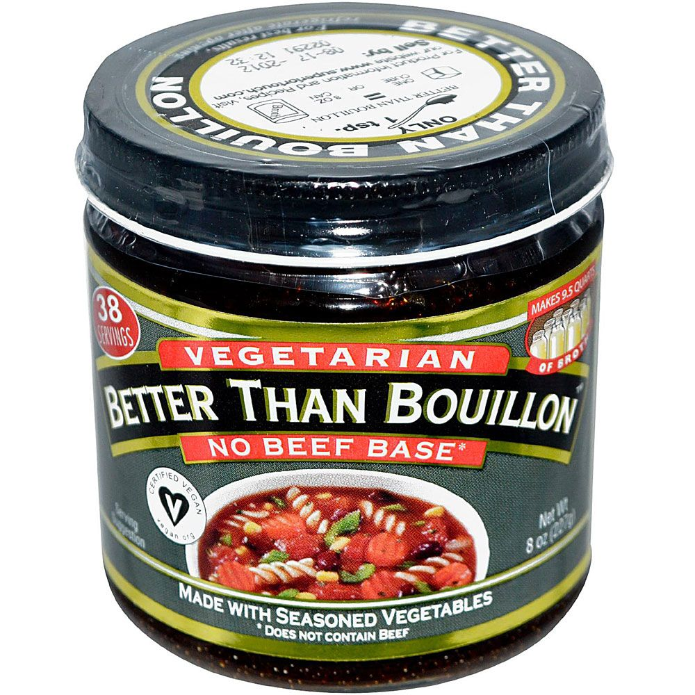 Better than bouillon vegetarian no beef base 8 oz with