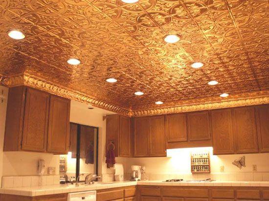 16 Decorative Ceiling Tiles for Kitchens (Kitchen Photo Gallery) - 16 Decorative Ceiling Tiles For Kitchens (Kitchen Photo Gallery