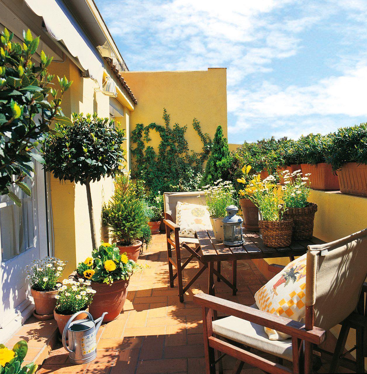 Terrazas de ciudad bien aprovechadas porchs patios - Casas bien decoradas ...