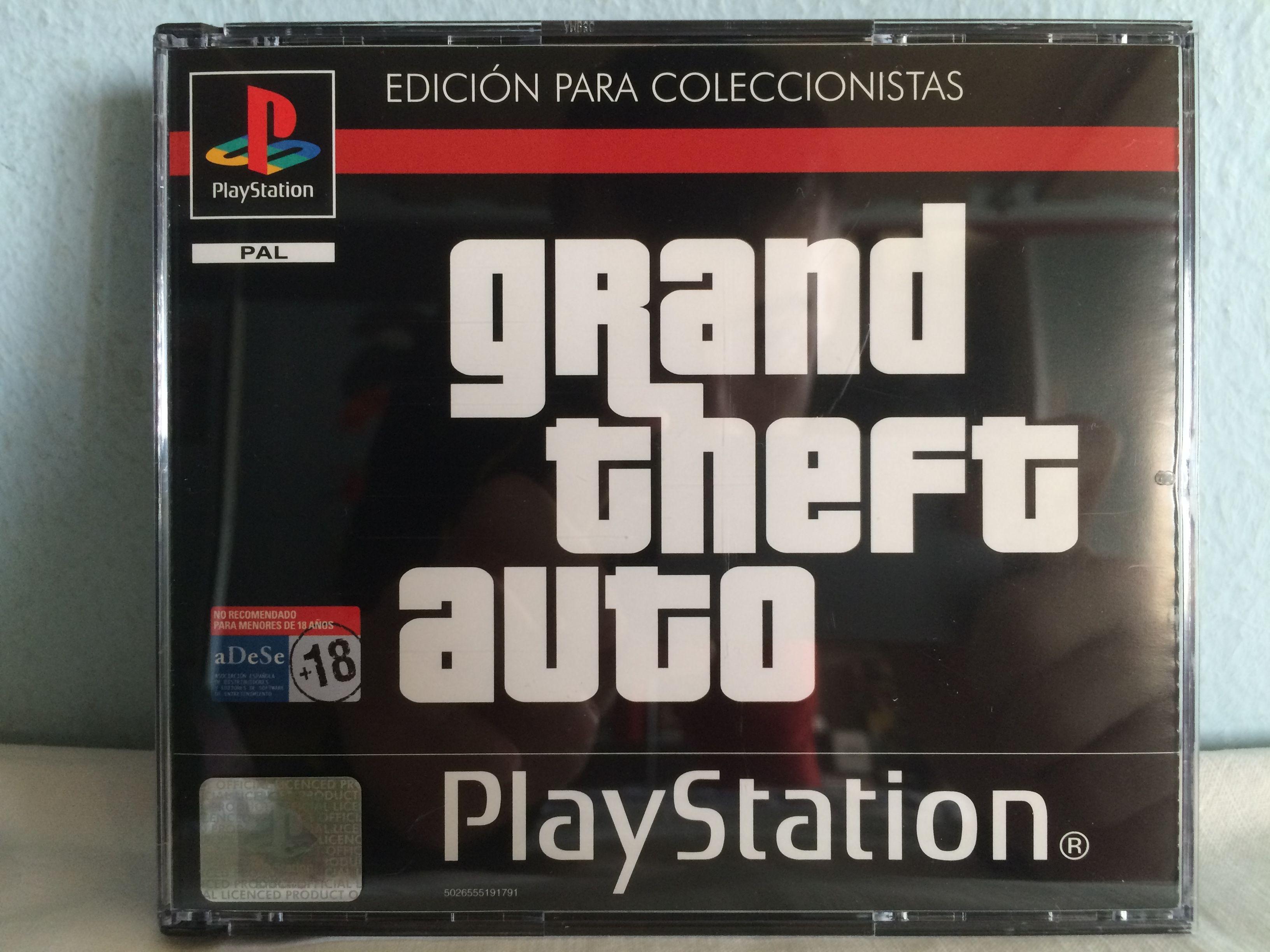 Grand Theft Auto Edición para Coleccionistas box game