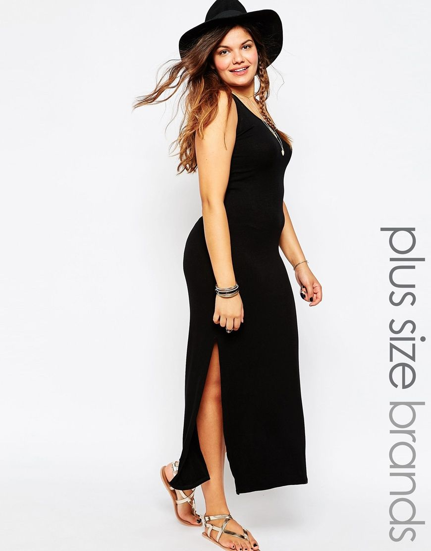 Image of new look inspire ribbed midi dress summer wear