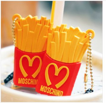 10 Free Shipping Silicone Mcdonald S Fries Anti Dust Plug For
