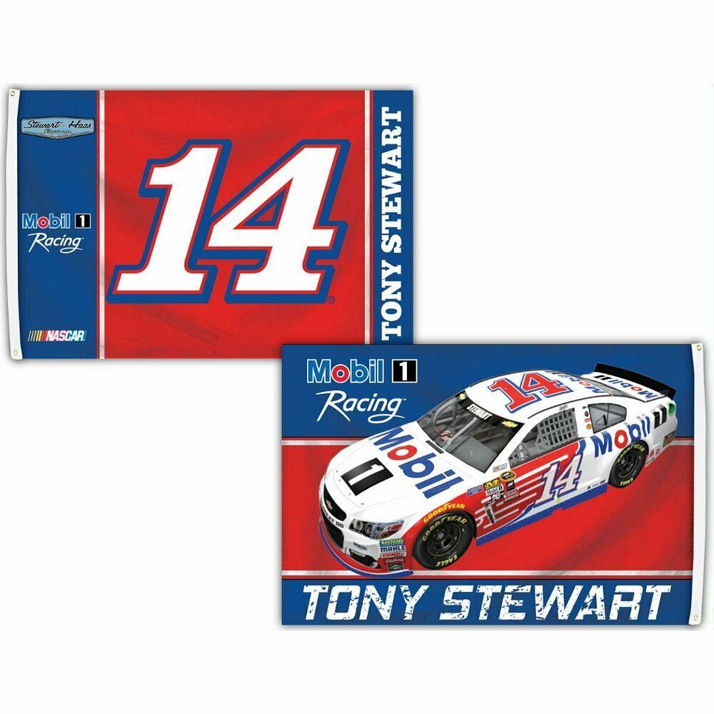 Tony Stewart 3 x 5 Nascar Flag