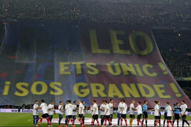El Camp Nou Le Declara Su Amor Incondicional E Inmortal Al