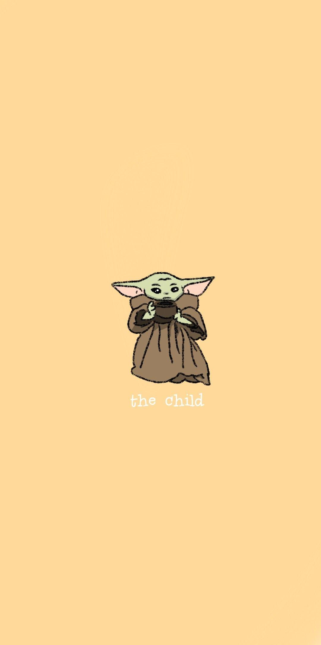 Baby Yoda Wallpaper In 2020 Yoda Wallpaper Custom Wallpaper Cartoon Wallpaper Iphone