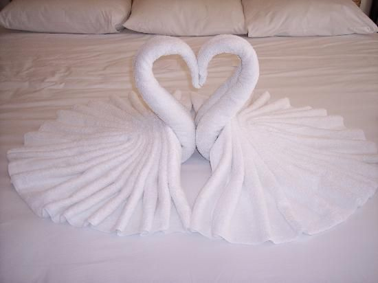 How To Make A Swan Towel Cake