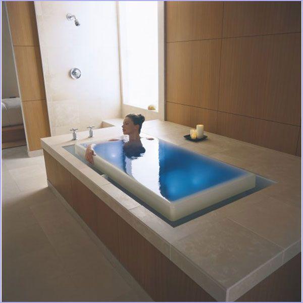 Bathroom Designs Kohler kohler k-1188-c1-0 sok overflowing bath with chromatherapy. saw it