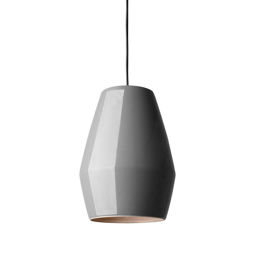 Bell taklampe, grå, Northern Lighting