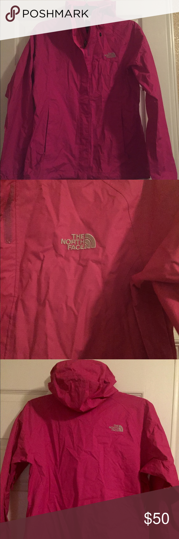 North Face all weather jacket. Pink- North Face all weather jacket. North Face Jackets & Coats