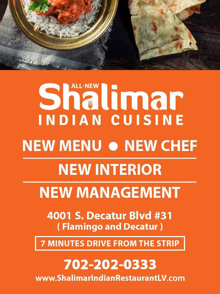 All New Shalimar Indian Cuisine Las Vegas Indian Restaurant Indian Cuisine Shalimar Cuisine